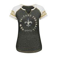 NFL Women's V Short Sleeve T-Shirt - Multi - Size: Medium