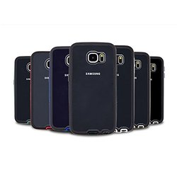 VOIA Air Shield Protective Cover Bumper Case for Galaxy S6 Edge - Retail Packaging - Silver