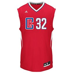 Men's adidas Los Angeles Clippers Blake Griffin Replica Jersey Clp Red