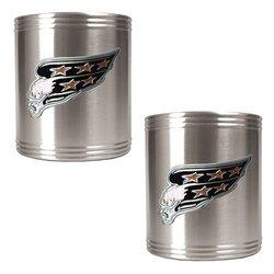 Washington Capitals 2 Can Holder Set silver