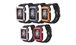 Tough Armor Apple Watch Strap Case: 38mm/space Gray