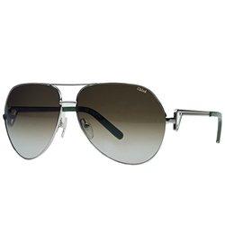 Chloe Women's Sunglasses: Light Gold Green (CE111S/714)