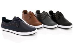 Franco Vanucci Lace-up Men's Sneaker Edward-1: Navy/10.5