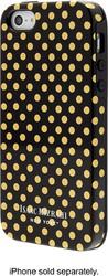 Isaac Mizrahi New York Mini Dot Case for Apple iPhone SE 5S & 5 - Blk/Gold