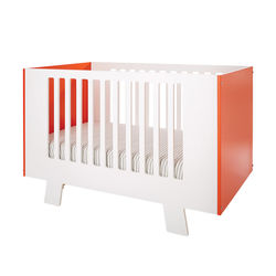 Dutailier Giggle Signature Crib Conversion Kit for Baby - Red