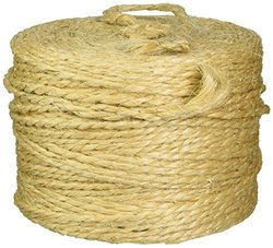 Shipping Supply 1,460', 360 lb Tensile Strength Sisal Tying Twine, 1 Set] (TWS146)