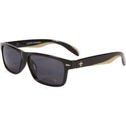 Unisex NFL New Orleans Saints Polarized Retro Wear Sunglasses - Black
