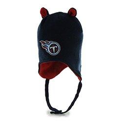 47' NFL Toddler Little Monster Knit Cap - Light Navy/Tennessee Titans