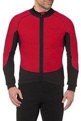 VAUDE Men's Pro Warm Tricot Jersey - Red - Size: X-Large