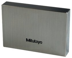 Mitutoyo Steel Rectangular Gage Block, ASME Grade 0, 1.12 mm Length
