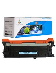 True Image Black Toner Cartridge Replacement for HP CE250A