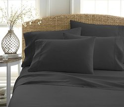 Ienjoy Home Deep Pockets for Mattresses - Wrinkle Free - Blk - Size: King