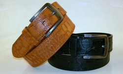Belt Stars Men's Casual Leather Belts Pack of 2 - Multi - Size: Small