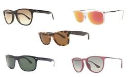 Ray Ban Unisex Rb2140f Tortoise / Brown Lens Sunglasses