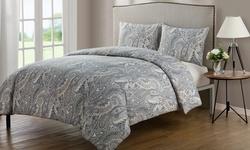 Victoria Classics Palila Duvet Bedsheet Set 3 Piece - Multi - Size: King