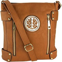 MKF Collection Crossbody Bag - Fanisa/Brown