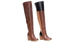 Tall Patchwork Boot: Patchwork/8