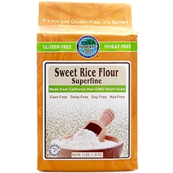Authentic Foods Sweet Rice Flour Superfine - 3lbs