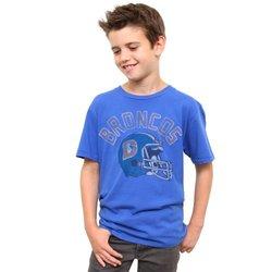 NFL Denver Broncos Youth Kickoff Crew T-Shirt X-large