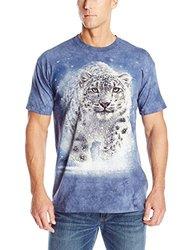 The Mountain Snow Ghost T-Shirt, Medium, Blue