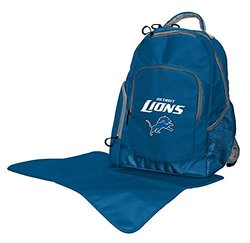 Lil Fan NFL Diaper Backpack Collection, Detroit Lions