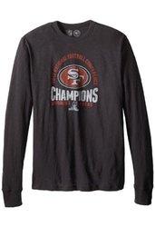 47 NFL San Francisco Men's NFC Champs Scrum Tee - Jet Black - Size: XL