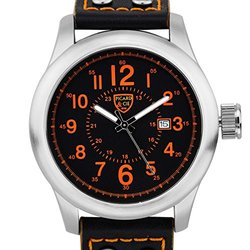 Picard & Cie Stellihorn Men's Watch - Black/Orange