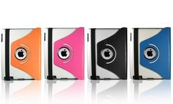 Ipad 360 Rotating Case - Black/Orange - Ipad 2/3/4