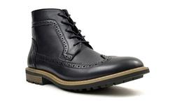 Joseph Abboud Shoes: Wilson-black/9.5