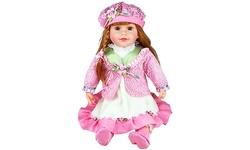 Cherish Crafts Molly Musical Vinyl Doll - Size: 25-inch
