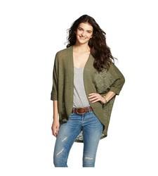 Mossimo Supply Women's Cocoon Cardigan - Green - Size: Medium