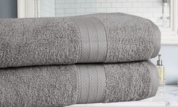 "Amrapur Overseas 2 Pk Bath Sheets - Jade - Size: Oversized 35""x66"""