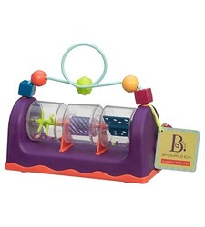Battat Baby Spin Rattle & Roll Toy - Multicolor