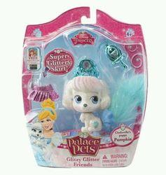 Disney Princess Palace Pets Glitzy Glitter Cinderella's Puppy Pumpkin