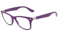 Ray-Ban Women's Optical Frames - Matte Violet / Clear Lens - 50mm