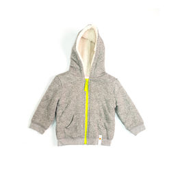giggle giggle Better Basics Faux Fur Lined Hoodie - Baby