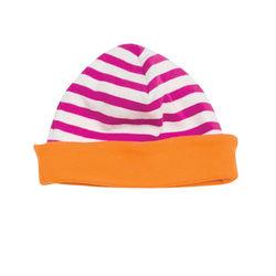 giggle giggle Better Basics Striped Skull Hat (Organic Cotton)