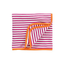 giggle giggle Better Basics Striped Receiving Blanket (Organic Cotton)