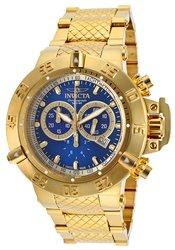 Invicta Sub Aqua Men's Watches: Invicta-14501, Gold-tone/blue