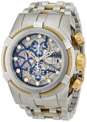 Invicta Men's 12759 Bolt Analog Display Swiss Automatic Silver Watch