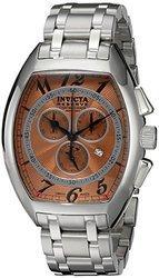 Invicta Men's 17280 Reserve Analog Display Swiss Quartz Silver Watch