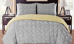 Scottsdale Reversible Set: Queen (3-piece)/charcoal