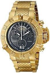 Invicta Men's 17616 Subaqua Analog Display Swiss Quartz Gold Watch
