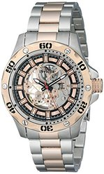 Invicta 15230 Specialty Mechanical 3 Hand Rose Gold Dial Men's Watch