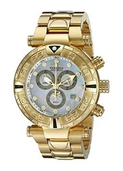 Invicta Men's 17684 Subaqua Analog Display Swiss Quartz Gold Watch