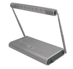 RiteLite LPL900RMTL Rechargeable 8 LED Portable Desk Task Light, Silver