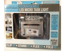 Litehaus Rechargeable LED Micro Task Light