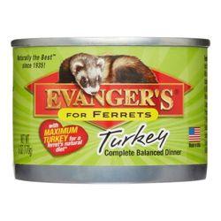 NEW Evangers Maximum Turkey Ferret Food - 6 oz