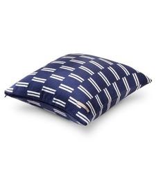 Brooklyn & Bond Monroe Stripe Decorative Pillow - Navy - Size: One Size