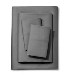 Xhilaration 4 Pc Solid Sheet Set - Garden - Size: Queen